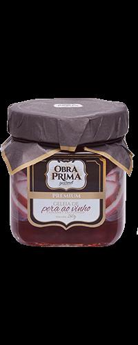 GELEIA DE PÊRA COM VINHO CABERNET